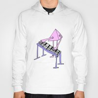 piano Hoodies featuring Piano by melanie johnsson