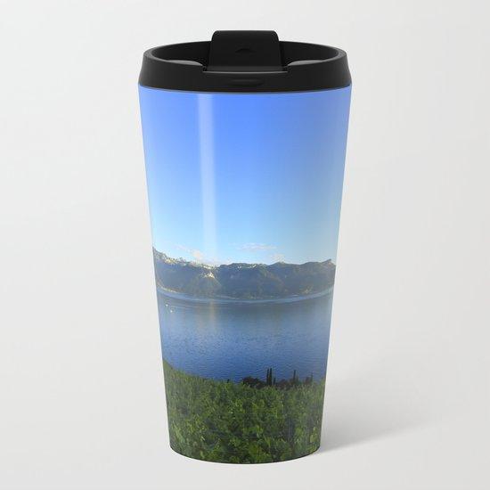 Dream Away Landscape Metal Travel Mug
