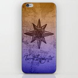 Terra Incognita iPhone Skin