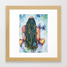 Released and Free Framed Art Print
