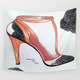 Stepping with Style Wall Tapestry