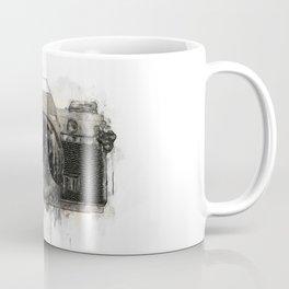 retro camera illustration / painting /drawing  2 Coffee Mug
