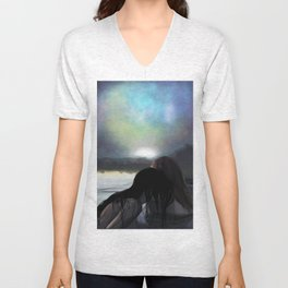 Sea of Love Unisex V-Neck