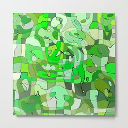 Abstract Design 1 Metal Print