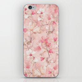 PINK MAGNOLIAS iPhone Skin