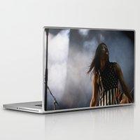 health Laptop & iPad Skins featuring HEALTH by chrisofarc