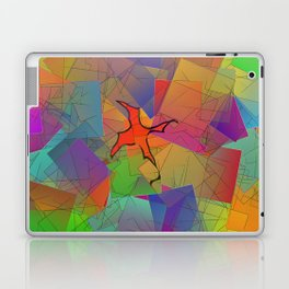 2506 Little cubistic phoenix ... Laptop & iPad Skin