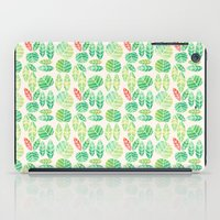 minimalist iPad Cases featuring minimalist spring by serenita