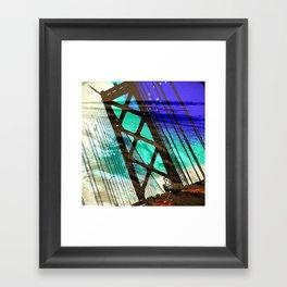 SFO Bound Framed Art Print