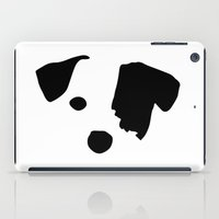 jack russell iPad Cases featuring Jack Russell Dog Breed by Maria Faith Garcia