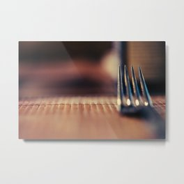 Food is almost ready Metal Print