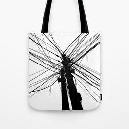 Electric Pole Tote Bag