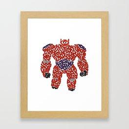 Baymax Framed Art Print
