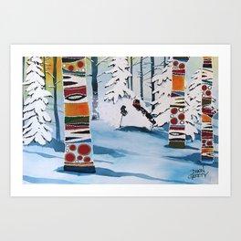 Freshie Forest Art Print