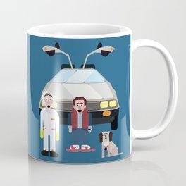 Marty, Einstien and Doc Brown Coffee Mug
