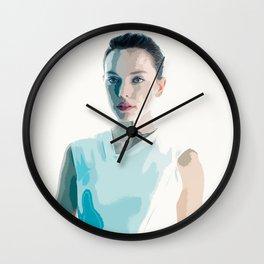 Daisy Ridley 2 Wall Clock