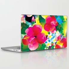 Hawaiian jungle Laptop & iPad Skin