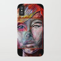mirror iPhone & iPod Cases featuring mirror by Irmak Akcadogan