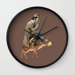 Dik Dik Dick Wall Clock