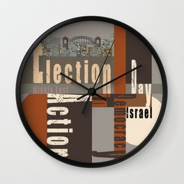 Election Day 7 Wall Clock