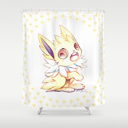 Cute little Jolteon Shower Curtain