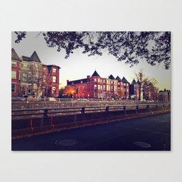 Resident District Canvas Print