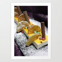 dessert Art Prints featuring Dessert by Ornaart