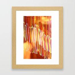 Dancing Lights Framed Art Print