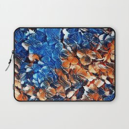 Bold and Beautiful Floral Abstract Laptop Sleeve
