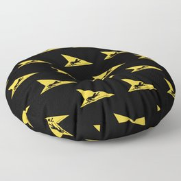 Fighter Squadron Twenty One VF-21 Freelancers Tail Floor Pillow