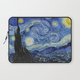Starry Night by Vincent Van Gogh Laptop Sleeve