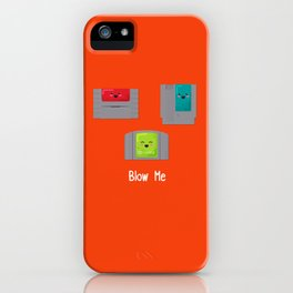 Blow Me iPhone Case