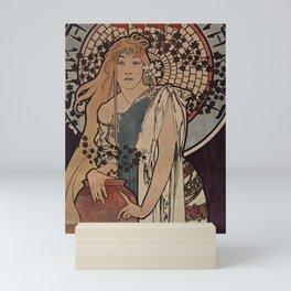LA SAMARITAINE Alphonse Mucha 1897 Mini Art Print