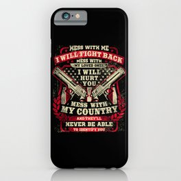 Veteran iPhone Case