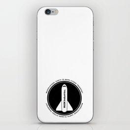Musk Industries Space Badge iPhone Skin