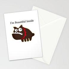I'm beautiful inside Stationery Cards