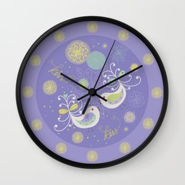 Kiss Little Wing Wall Clock