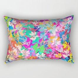 Floral abstract(47). Rectangular Pillow