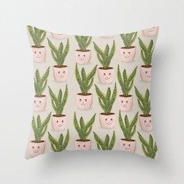Houseplant Love Throw Pillow