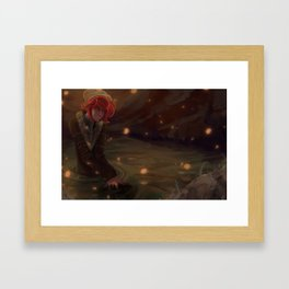 ... Might Be A Reason for Standing Here Framed Art Print