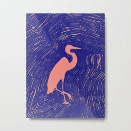 Little Egret Metal Print