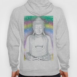 Buddha and Rainbow Hoody