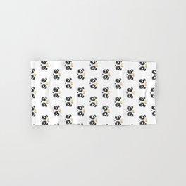 Panda King [Pattern] Hand & Bath Towel