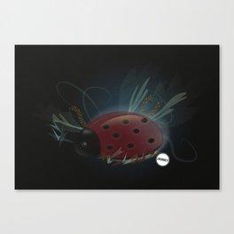 Miss Ladybug Canvas Print
