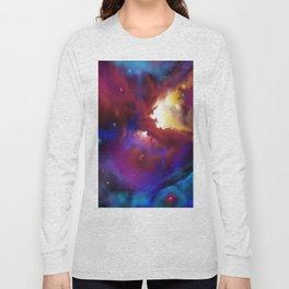 Bat Nebula  Long Sleeve T-shirt