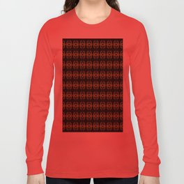 Peacock Bead Abstract Long Sleeve T-shirt