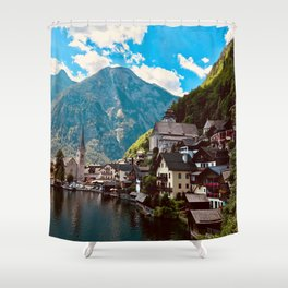 Hallstatt Shower Curtain