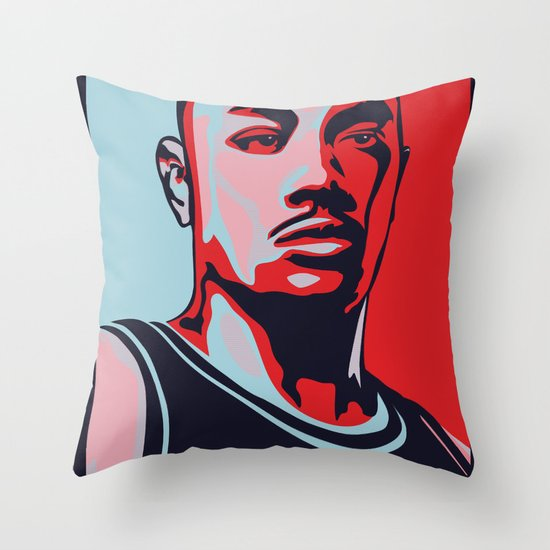 Rose is Hope Throw Pillow