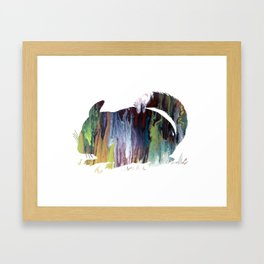 Chinchilla Framed Art Print