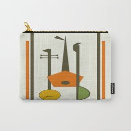 Mid-Century Modern Art Musical Strings Tasche